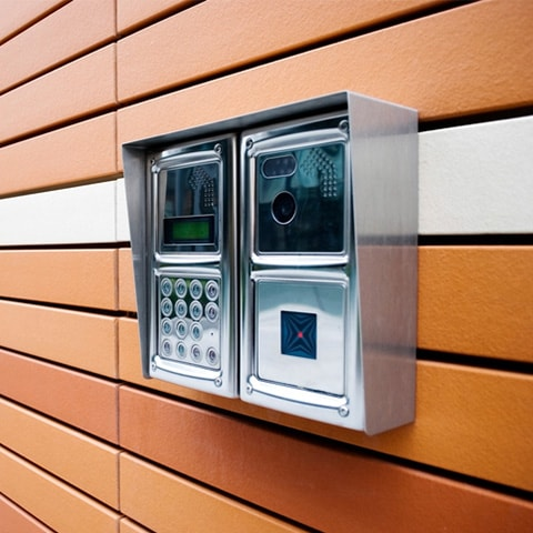 enterphone building entry systems